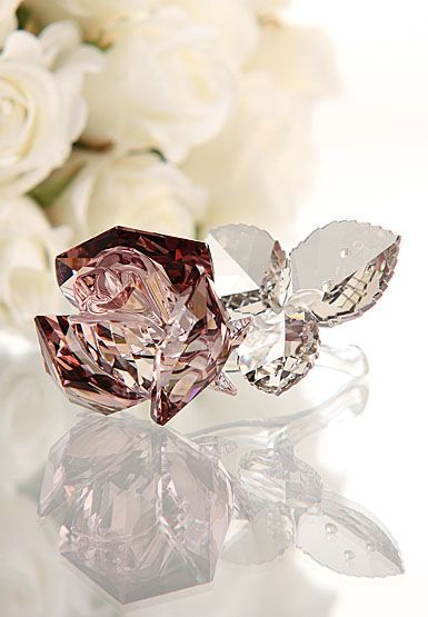 Swarovski Blossoming Rose $170 I want this