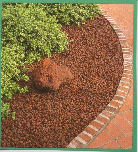 Red lava rock and red lava chunk aka volcanic moon rock for Small red rocks for landscaping