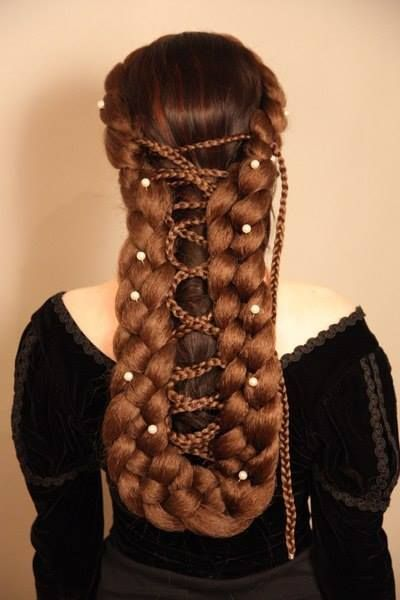 Medieval hair ideas
