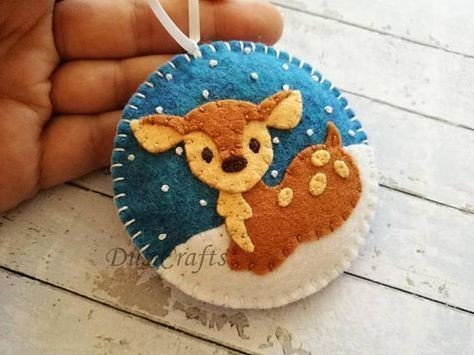 38 Original Felt Ornaments Decoration Ideas For Your Christmas Tree 28