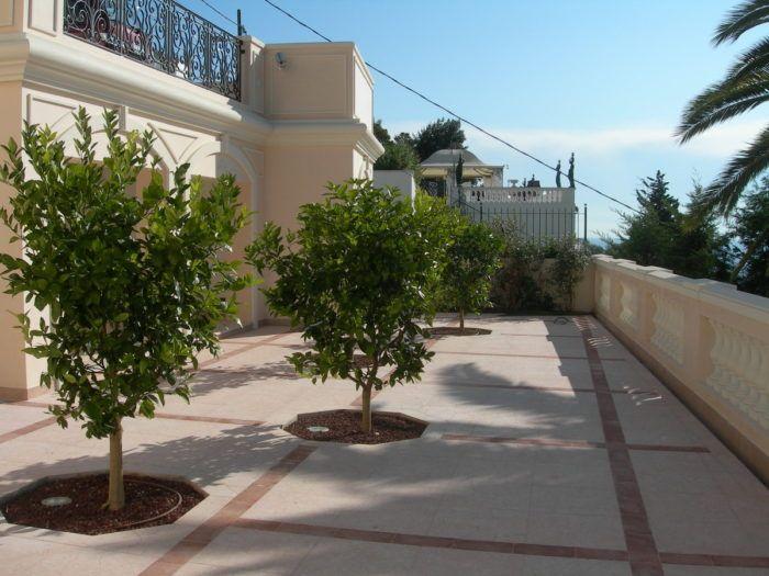 terrazza in cemento