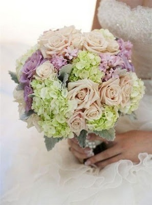 "Love the hydrangeas here. 'Pretty Pastels' by The Bowral Florist. C|S  ""Create a pale pastel wedding that enchants your guests and suggests the first buds of spring. For a dreamy, romantic touch choose a bouquet of pretty pastel blooms, like this stunning boquet from The Bowral Florist. The soft hues of cream, green and purple will look beautiful against the whs'ite of your dress…"""