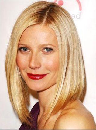 hair band hairstyles : Long bob - Gwyneth Paltrow Long Bob Haircut Ideas Pinterest Bobs ...