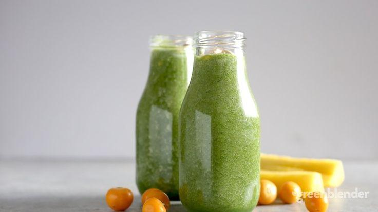 green ground cherry smoothie recipe