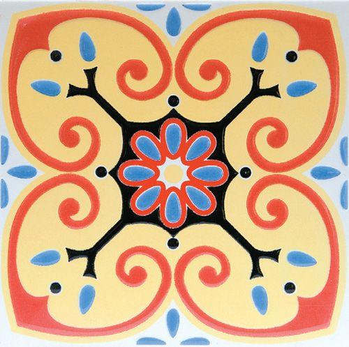 Portuguese tile, Coimbra, Portugal