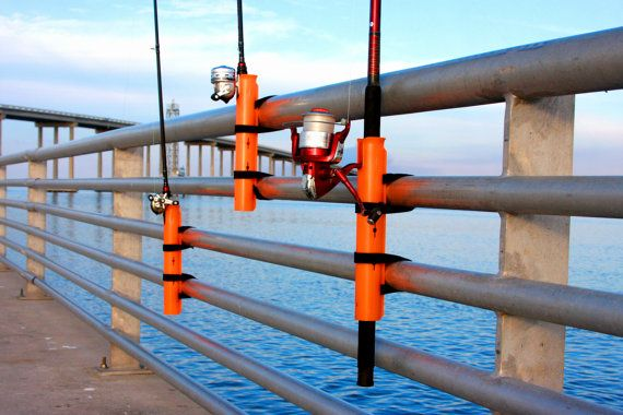 1000 ideas about fishing rod holders on pinterest for Pier fishing rod holder