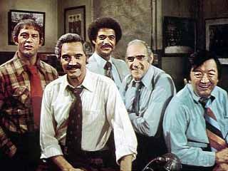 Barney Miller!   I loved this show as a little girl. I'd come running when I heard the intro!!!