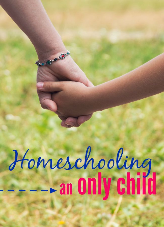 Homeschooling an only child has it's own unique challenges and advantages. Read about our experience homeschooling an only and how we make it work.