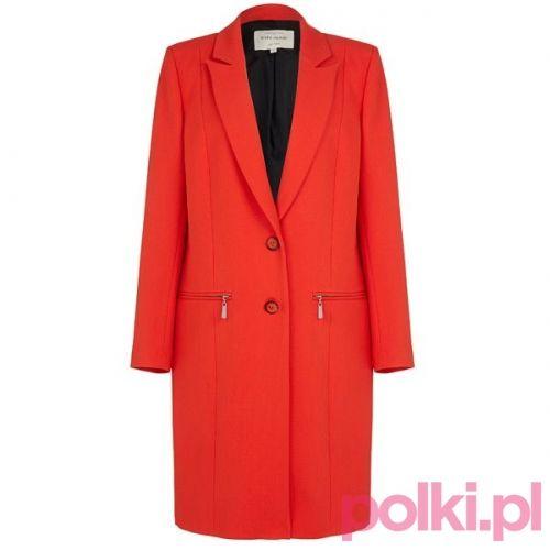 Czerwony płaszcz River Island #polkipl