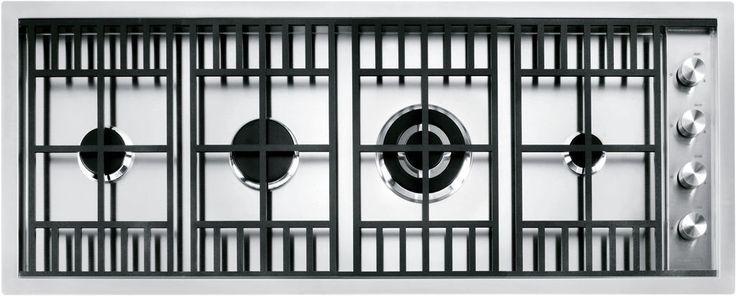 Table de cuisson à gaz / encastrable / avec grill - 1PLBC2TI - F.lli Barazza Srl