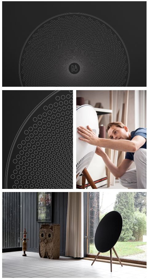 Hidden beneath the speaker cover of BeoPlay A9 you will find an ancient geometric form. This is the story about how the Fibonacci sequence ended up on a B&O PLAY speaker - read the interview on The Journal | B&O PLAY #BeoPlay #BeoPlayA9