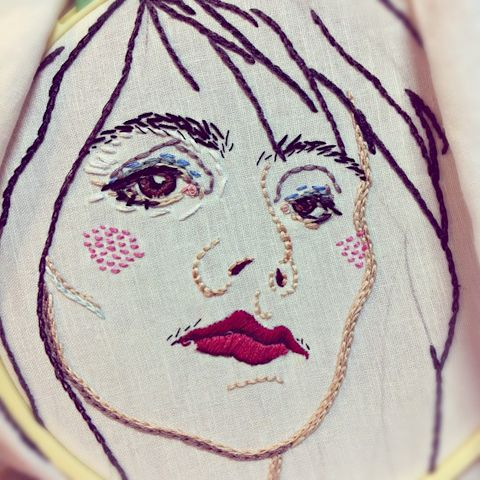 Embroidery as Art by Jenny Hart