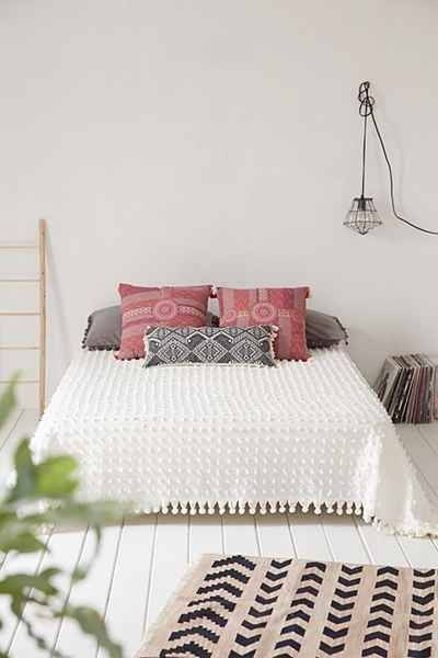 tufted dot coverlet - i have ALWAYS wanted one of these