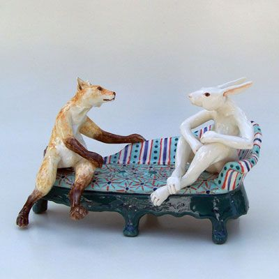 Rabbit Furniture Andree Richmond Ceramic Artist