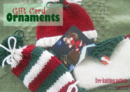 knit gift card holders   knitting   Pinterest   Gift card ...