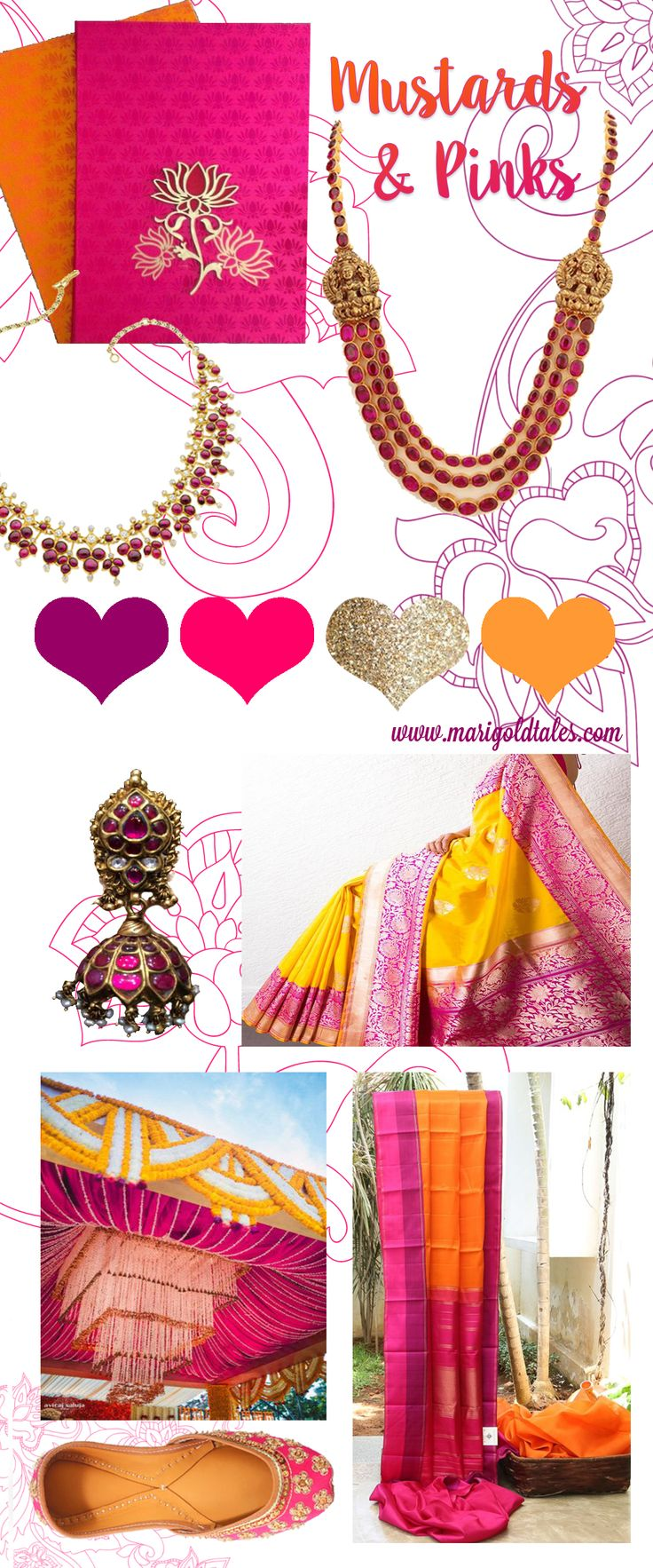 indian wedding colour scheme, color scheme indian wedding, yellow pink indian…