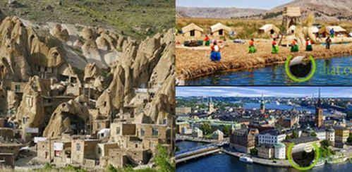 5 Kota paling Unik yang Terbentuk oleh Alam