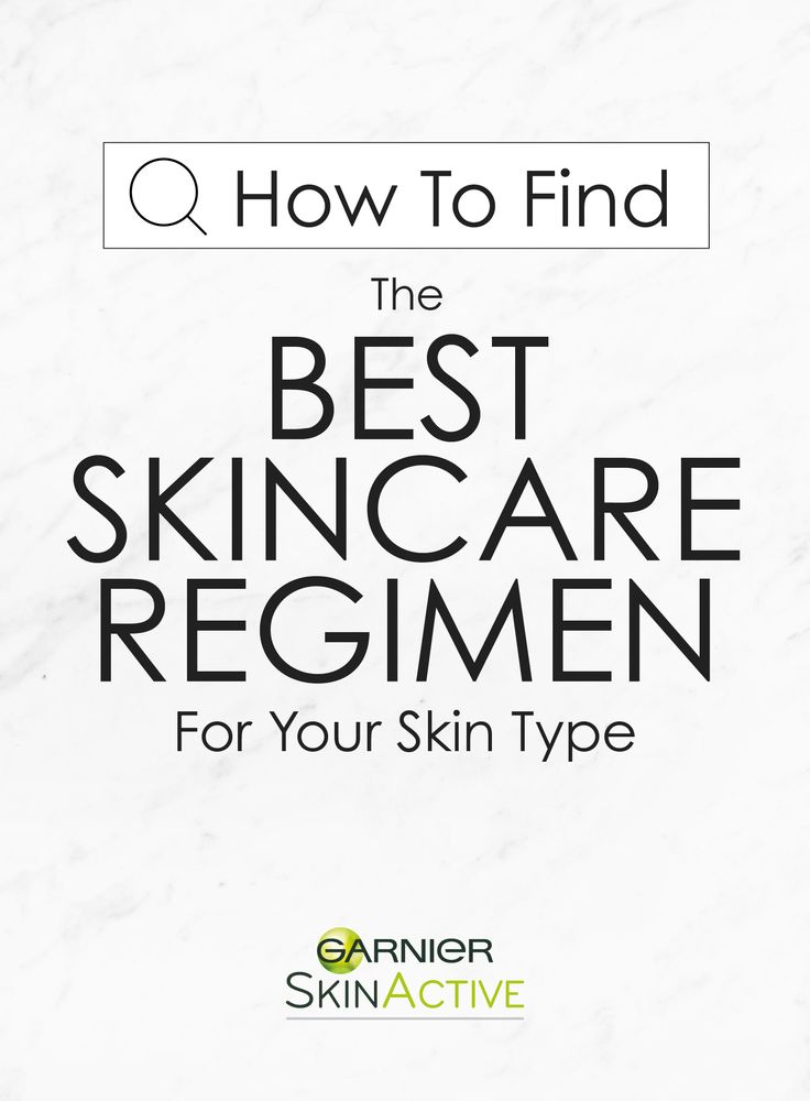 Your guide on how to find the best skin care regimen for your skin type: Dry, Combination, Oily, or problem-free!