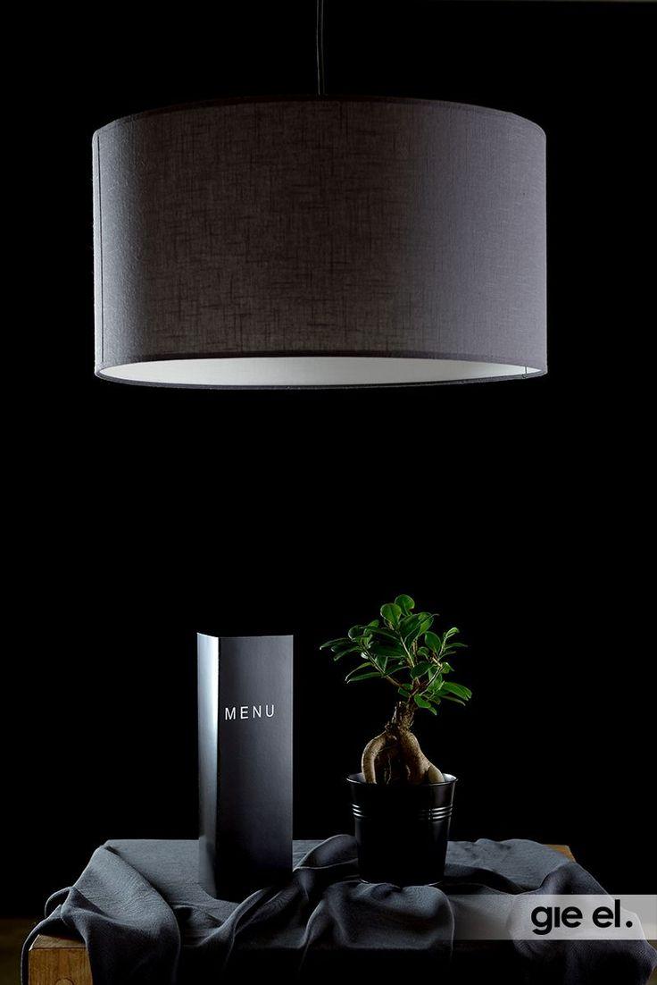 GIE-EL HOME Pendant lamp - big, classy, simple shape.