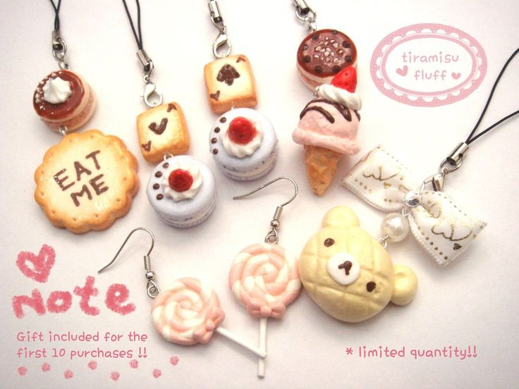 KAWAII - FashionJewellery / Kawaii / Mini Shop Update!! by ~tiramisuxfluff on deviantART
