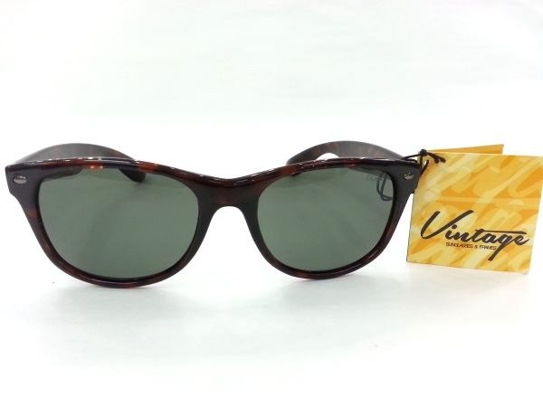 Vintage Polarized Wayfare X Dark Brown Sheet Sunglasses