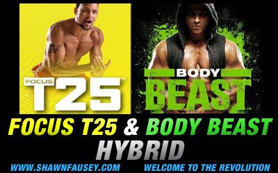You were asking so i delivered! Here is my personal Developed Hybrid with T25 and Body Beast! First off i want to say this is not a hybrid...