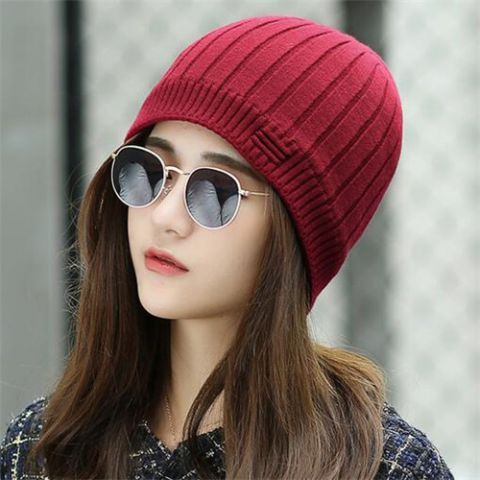 Pin by BUYHATHATS LIMITED on knitted beanie hat for women winter ... 82415232ded0