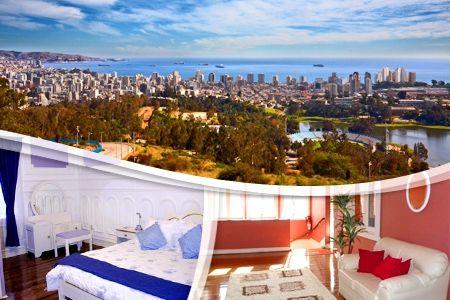 $52500 por 4 días y 3 noches para dos + desayuno en Hotel Santino, Viña del Mar