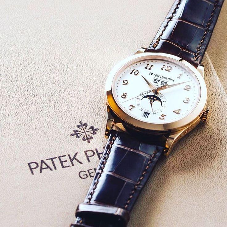 Новые часы Patek Philippe Men's Complications Ref. 5396 с функцией годового календаря. Механизм с автоматическим заводом. Корпус из розового золота #baselworld2016 #patekphilippe
