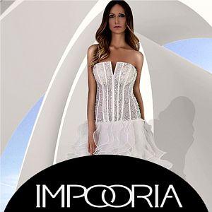 Angesagte Brautkleider für Berlin von der deutschen Brautmode Marke Impooria.
