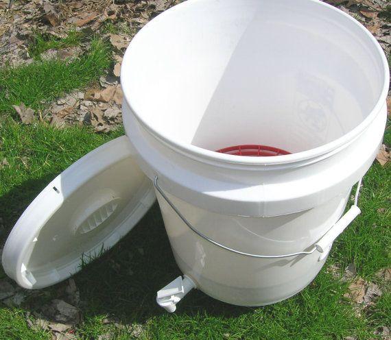 Gusano de lombricultura compostaje cubo interior/exterior con