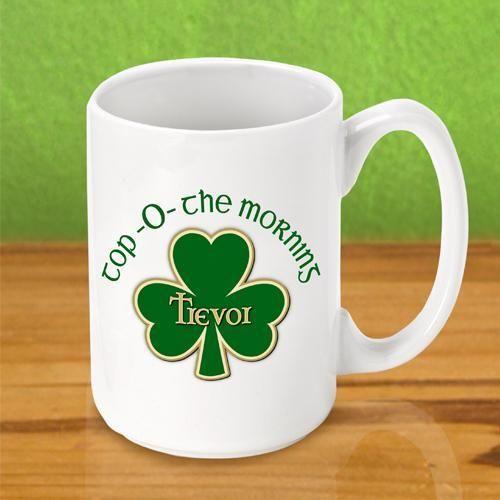 Irish Coffee Mug - Top O The Morning