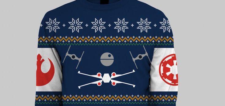 Des pulls de Noël aux couleurs de Star Wars - http://www.leshommesmodernes.com/pulls-noel-star-wars/