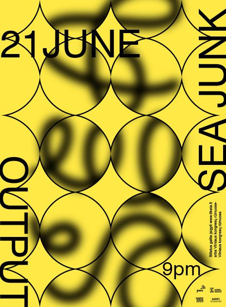 Sea junk poster. Denis Kuchta