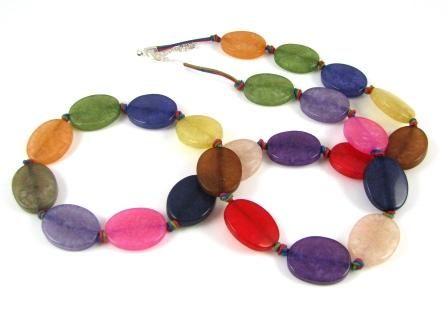 Tutti Fruity Resin Necklace: Beads Tutorials, Fruity Resins, Resins Necklaces, All Fruity, Beads Projects, Beading Tutorials, Necklaces Yum, Chunky Necklaces