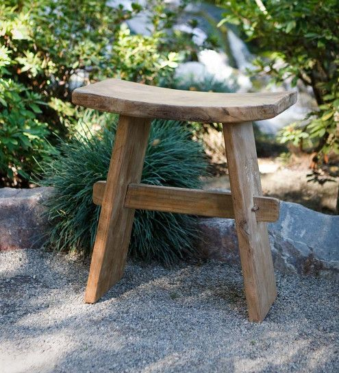 Zen Garden Stool Vivaterra In 2019 Vintage Garden Decor