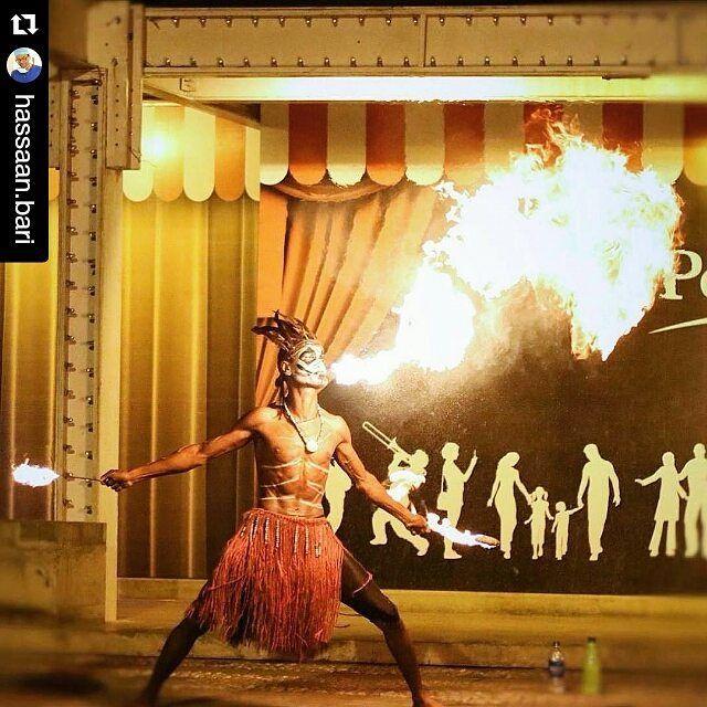 "#Repost @hassaan.bari with @repostapp  "" .... I survived because the fire inside me burned brighter than the fire around me ... "" .... a street artist performing the fire dance at Karachi port .... #fire #firedance #firedancer #streetphotography #streetsofpakistan #streetphotographer #skills #risk #flame #karachi #portgrand #portgrandkarachi #performance #artistloag #etribune #dawndotcom #dawn_dot_com #pakistan #paki_photographers #pakistandiaries #spectacularpakistan #greenpakistan…"