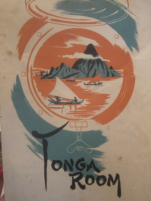 AMAZING vintage tonga room menu | Flickr - Photo Sharing!