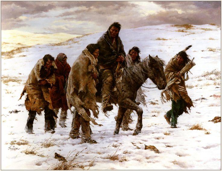 Chief Josephs rides to surrender - Howard Terpening
