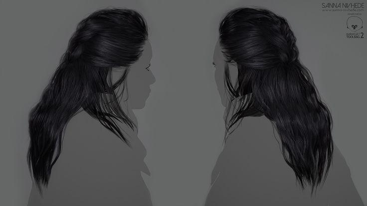 ArtStation - Miren - Real Time Character, Sanna Nivhede
