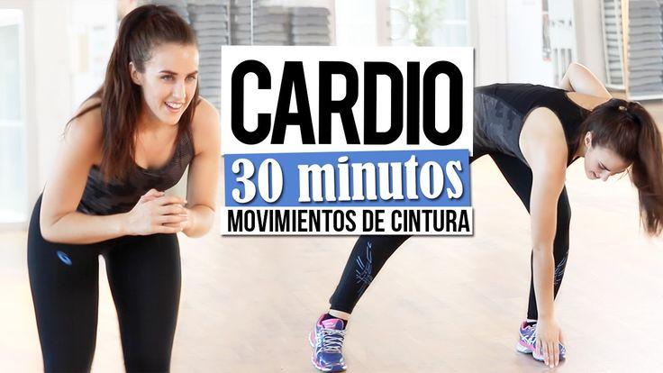Cardio 30 minutos con movimientos de cintura