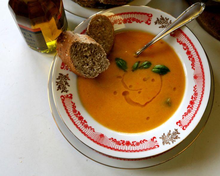 Bezlepková zeleninová polévka s červenou čočkou - http://receptydetem.cz/bezlepkova-zeleninova-polevka-s-cervenou-cockou/