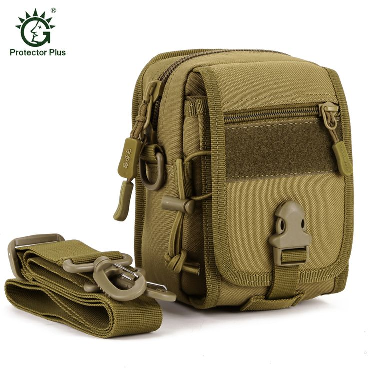 Tactics Military Men Messenger Bag Small Molle Pouch Crossbody Shoulder Messenger Bags Men's Nylon Camp Hike Equipment
