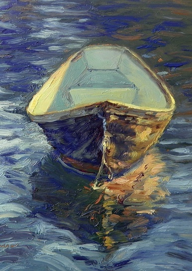 I love the seas.  Especially boats just floating on their own....Susan Renee Lammers