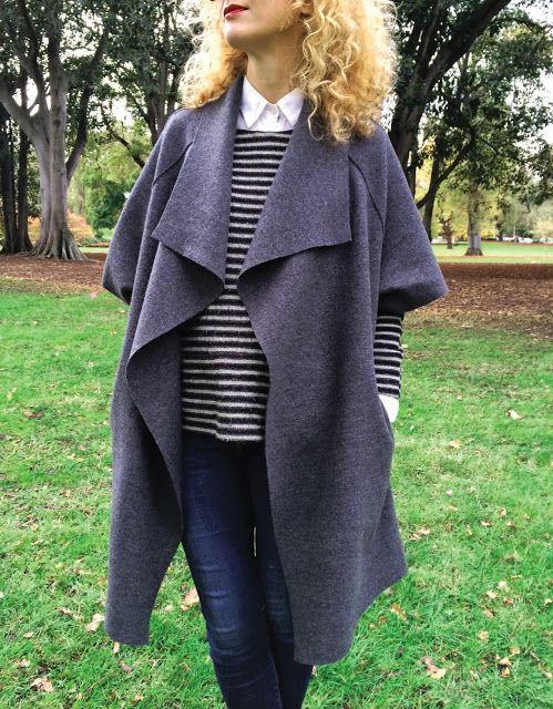 Sew Tessuti Blog - The Sydney Jacket Pattern