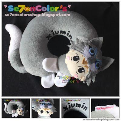 XIUMIN of EXO Neck Pillow - Wolf Ver.