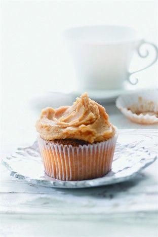 Cupcakes au caramel au beurre salé - Larousse Cuisine