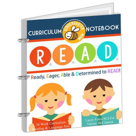 READ Curriculum Notebook for Kindergarten $25