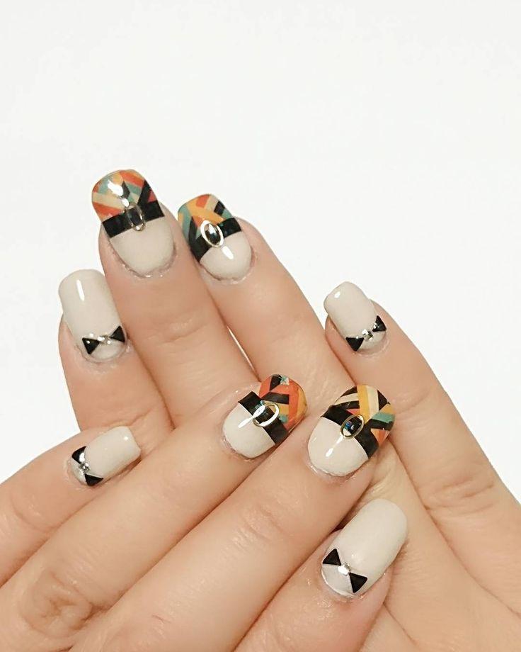 #ネイル #セルフネイル #ジェルネイル #冬ネイル #ウォーターネイルシール #リボンネイル #nails #gelnails #selfnail #naildesigns #nailstagram  #美甲