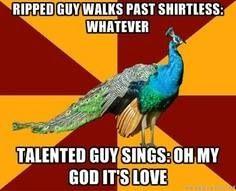 So true!! - Thespian Peacock #theatergeek